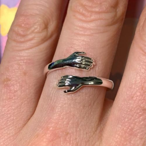 Ölelés alakú gyűrű photo review