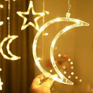 Ünnepi LED függöny díszítéssel photo review